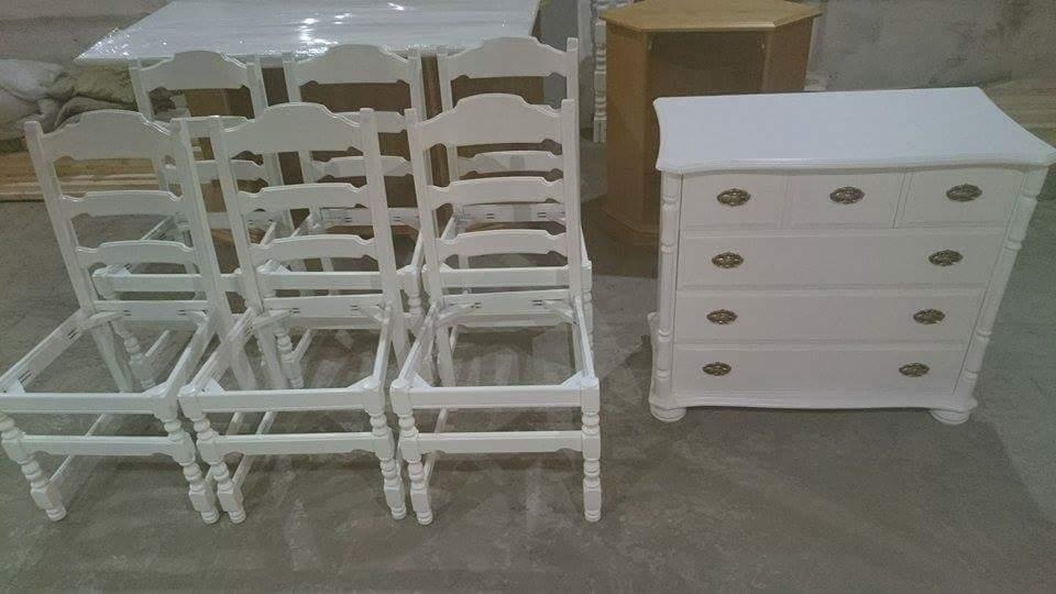 lakkering av møbler